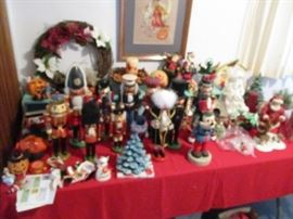 NUTCRACKERS AND A FEW INCENSE BURNERS FROM GERMANY
