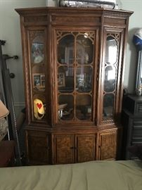 Beautiful china display/cabinet