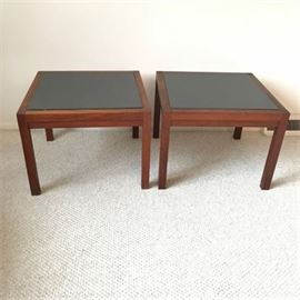 Pair of Mid-Century End Tables