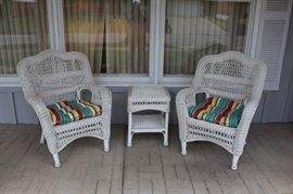 Newer chair and table set