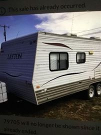 2011 23' Travel Trailer Very clean and ready to go!!