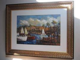 "Elio De Chino  "" Forenoon"" original painting"