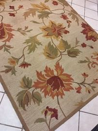 Large earth tone rug