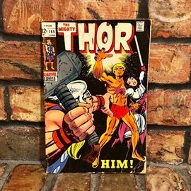 Vintage Thor comic book This item is available for presale! If it DOES SELL , it will not be at the on-site estate sale. Here is the link to purchase this now: https://www.estatesales.net/TX/Lone-Star/75668/marketplace/13903