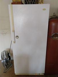 Frigidaire (model FFU14F9FW) garage freezer - it works!