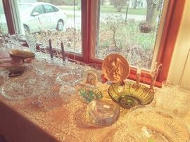 Depression Glass & more