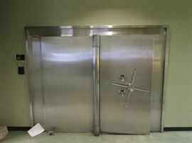 Diebold Stainless Bank Safe