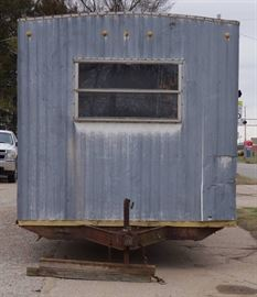 Bumper Pull Trailer - Job Site Office or Mobile St ...