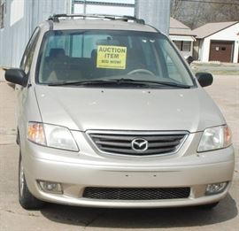 2001 Mazda MPV 5 Door Mini Van - NO RESERVE!!!!! C ...