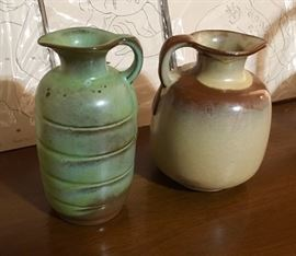 ANTIQUE VINTAGE FRANKOMA PITCHERS