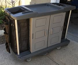 NICE COMMERCIAL INDUSTRIAL HEAVY DUTY PROFESSIONAL CLEANING CART