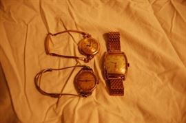 Antique Gold Filled Wrist Watches