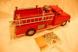 Vintage Early Tonka Fire Truck