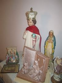 Infant of Prague and other religious relics