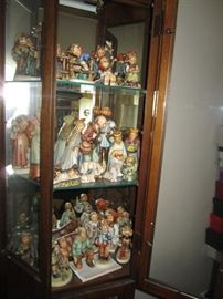 Hummel Goebel Nativity set and other figures