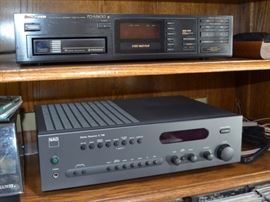 Pioneer CD player and NAD receiver