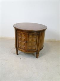 Hardwood Mission Style Round Table