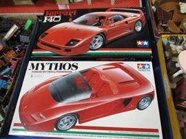 Tamiya Ferrari Models