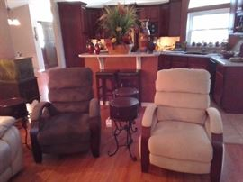 Pair of recliners from Havertys