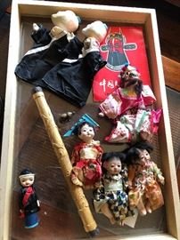 Vintage Puppets & Dolls