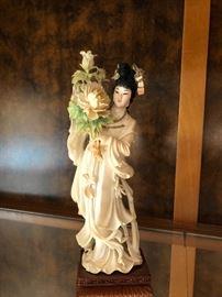 Asian Goddess Statue