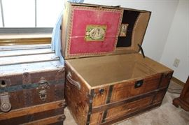 funiture trunk litographed