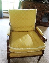 furniture berger down filled chair