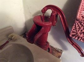 ONE OF TWO HAND PUMPS