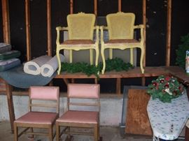 chairs (very sturdy) for refinishing