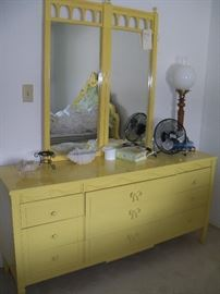 Thomasville triple dresser and misc