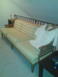 1963 drexel heritage cane sofa