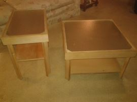 MSM Solid oak end tables