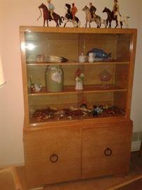 MSM solid oak cabinet