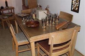 MSM solid oak dining set