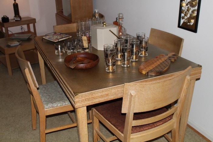 MSM solid oak dining set