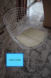 5 Knoll Chairs