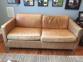 Ethan Allen High Grade Leather Sofa