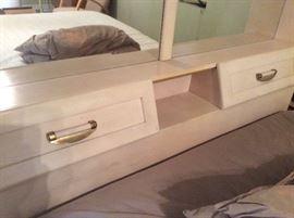 Headboard to retro ish bedroom set