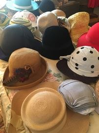 vintage ladies hats