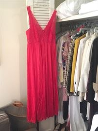 vintage lingerie, negligees and clothing