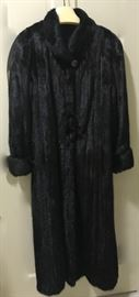 full length Blackglama mink coat