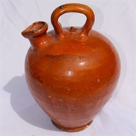 Early Redware Jug