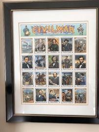Civil War frame