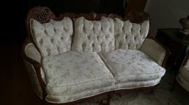 Love seat - clean and comfortable !