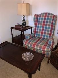 Wing Chair, 40's Coffee Table
