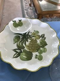 California Pottery Chip and Dip