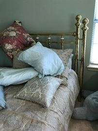Brass King Bed