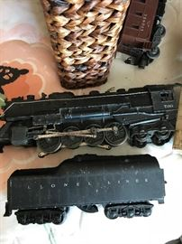 1948 Lionel Train Set Complete with Tracks and Transformer