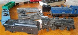 Lionel train, track etc.