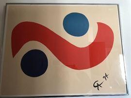 "Alexander Calder ""The Flying Colors Collection""            ""Skybird"""